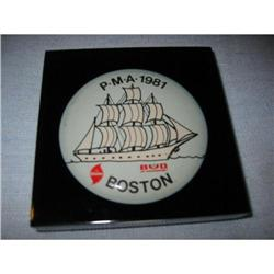Nautical Paperweight P.M.A. 1981 Dole Boston! #2375685