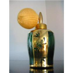 HolmSpray Gold cover Atomizer Perfume bottle!  #2375693