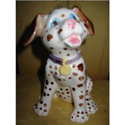 Folk pottery of Dog figurine vintage! #2375706