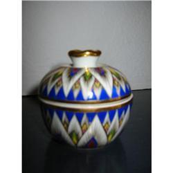 Handcraft Gold Pure Ceramic Porcelain box! #2375711
