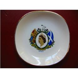 Figural Hand Painted Porcelain Plate!  #2375720