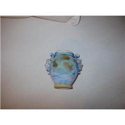 "Italian Pottery Vase ""Lover""! #2375721"