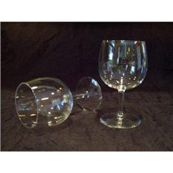Crystal Stemware Set of 12 Brandy Wine Goblets #2375734