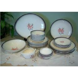 Southern Potteries Blue Ridge Dinnerware Set #2375749