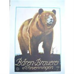 Original 1926 Lithographic Print - Baren #2375758
