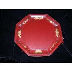 Qing Dynasty Fir Octagon Ceremonial Plate #2375804