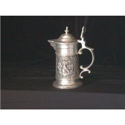 Pewter Syrup Pitcher #2375827