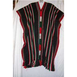 Vintage Traditional Saltillo Poncho #2375831