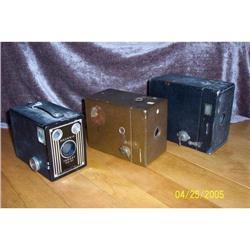 Three Brownie Box Camera Kodak 1902 ,Brownie #2375846