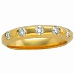 Yellow Gold Wedding Band #2375857