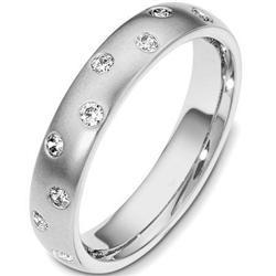 14kt  White Gold Starlite  Wedding Band #2375866