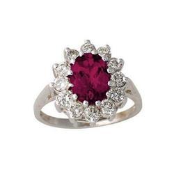 3.50ct Ruby & Diamond Ring #2375869