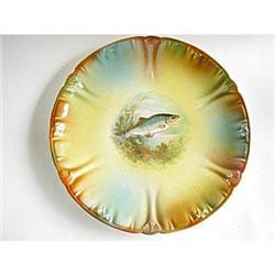 Royal Bonn Collector Plate Fish Antique #2375883