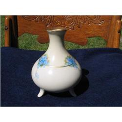 HAND PAINTED FOOTED VASE #2375928