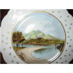 EARLY HAVILAND LIMOGES HAND PAINTED SCENIC #2375955