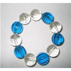Chunky Confetti Lucite Bangle Bracelet #2375970