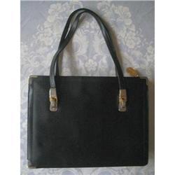 Koret Black Leather Handbag Red Lining #2375972