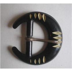 Art Deco Celluloid Belt Buckle  #2375973