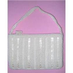 Handbag Glass Bugle Bead - Hand Made In Japan #2375984