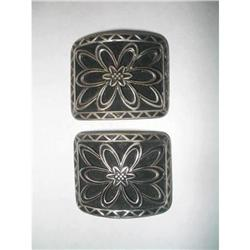 Art Deco Shoe Buckles - Made In France #2376001