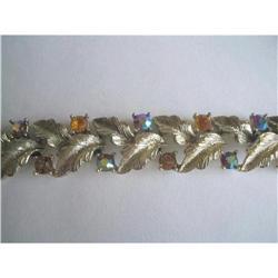 LISNER Signed Aurora Borealis Bracelet #2376005