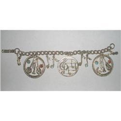 Vintage Charm Bracelet Music Theme #2376014