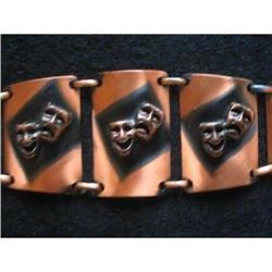 Copper Bracelet - Theatrical, The Twin Masks of#2376024