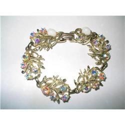 Coro Signed AB Rhinestone Bracelet #2376070