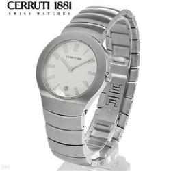 NEW Mens Cerruti 1881 Switzerland Watch #2376142