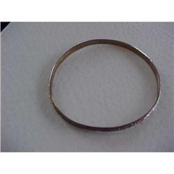 "2.5"" Silver Single Engraved Bracelet #2376165"