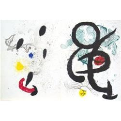 Miro Lithograph One of a Kind Lithograph #2376213