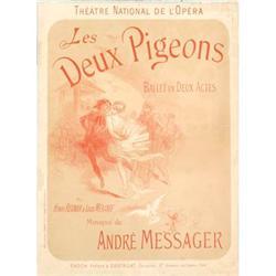 Messager Andre Les Deux Pigeons Ballet en deux#2376223
