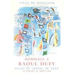 Dufy Raoul Ville de Honfleur, 1954 Lithograph #2376230