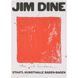 Jim Dine Limited Edition Original Poster Signed#2376243