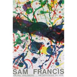 Francis Sam Edition Delille Lithograph Original#2376244