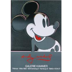 Warhol   Mickey Mouse from Galerie Kammer #2376245