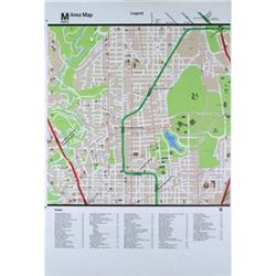 MTA Washington Washington DC Area Map #2376246