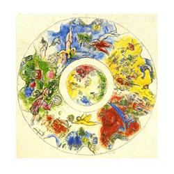 Chagall Marc The Paris Opera Ceiling lithograph#2376250