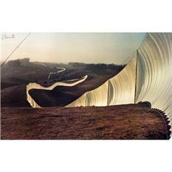 Javacheff Christo Running Fence, 1976 #2376251