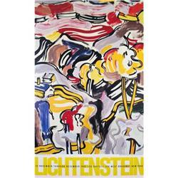 Roy Lichtenstein Landscape with Red Sky, 1985 #2376253