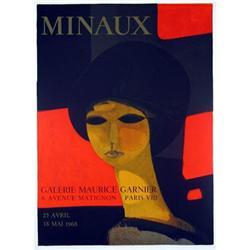 Andre Minaux Galerie Maurice Garnier, 1968 #2376255