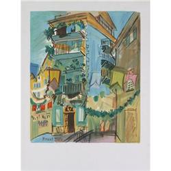 Raoul Dufy Vue d'un Edifice a Nice (avant#2376257