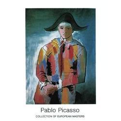 Pablo Picasso Arlequin les mainscroisees, 1923 #2376267