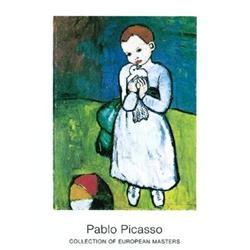 Pablo Picasso Kind Mit Taube 1901 #2376268