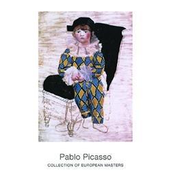 Pablo Picasso Paolo als Harlekin 1924 #2376270