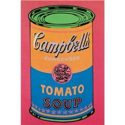 Andy Warhol Soup Can Tomato Colored #2376274