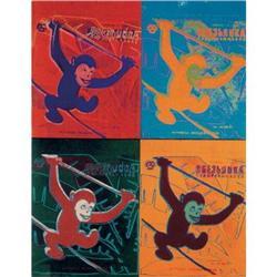 Andy Warhol Four Monkeys (sm) #2376276