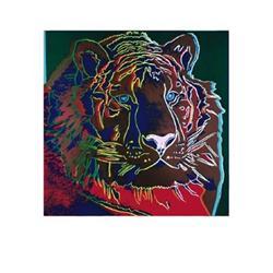 Andy Warhol Endangered Siberian Tiger #2376278