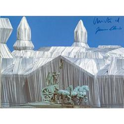 Javacheff Christo Wrapped Reichstag side view #2376282