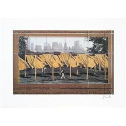 Christo   The Gates, Project for Central Park, #2376283
